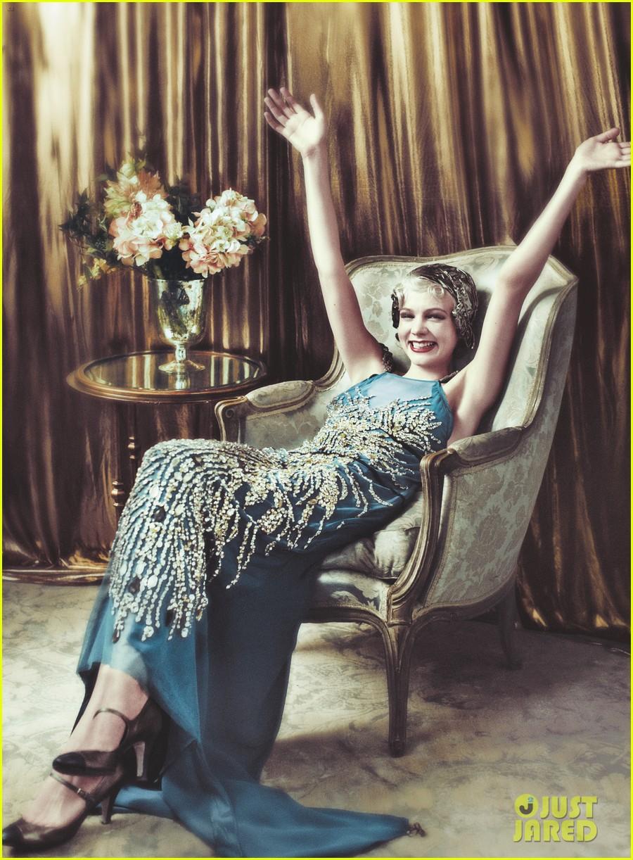 Carey Mulligan Covers 'Vogue' May 2013 as Daisy Buchanan