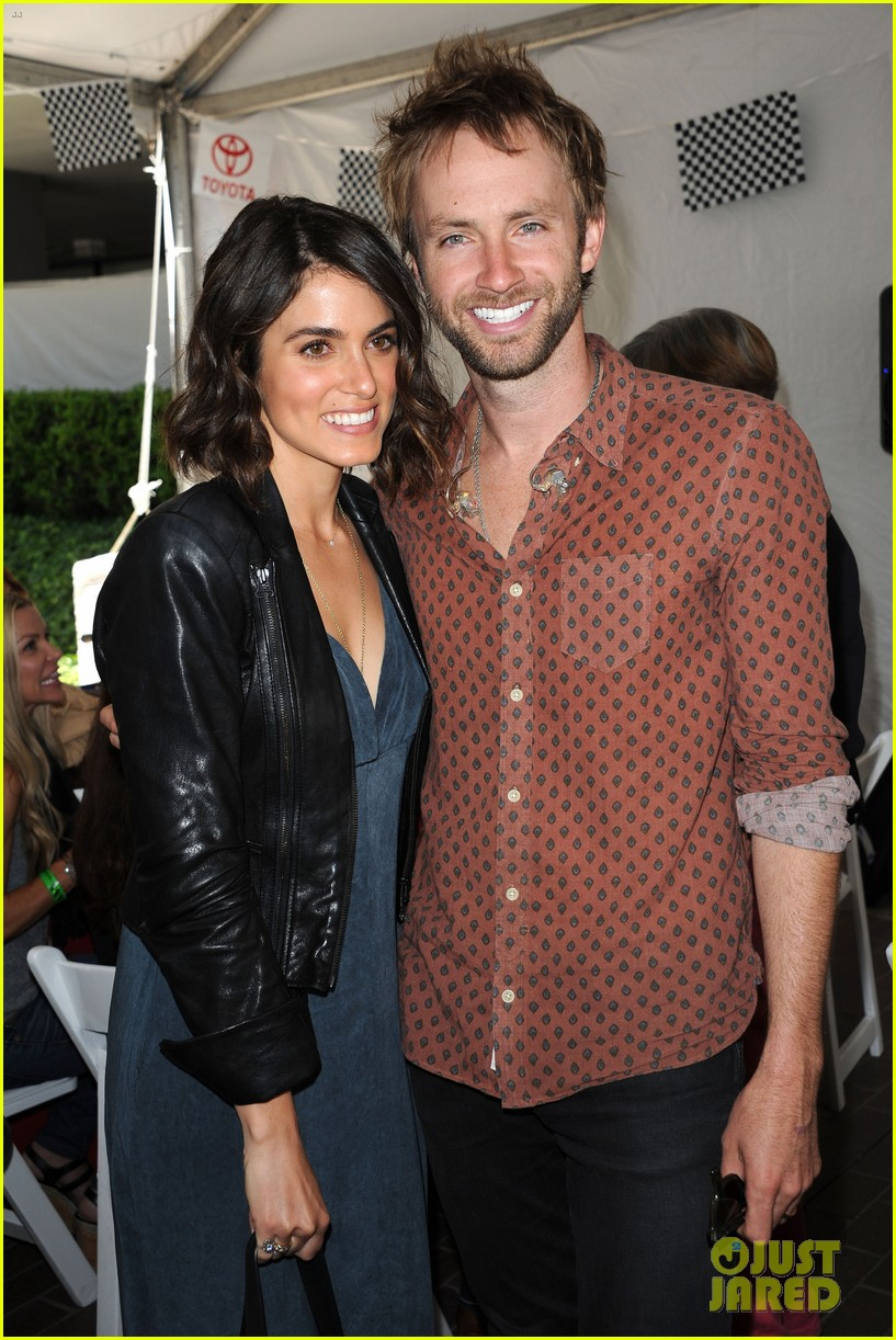 nikki reed paul mcdonald toyota pro celebrity race couple 022854838