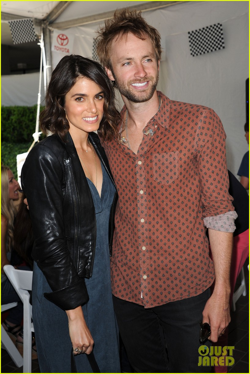 nikki reed paul mcdonald toyota pro celebrity race couple 082854844