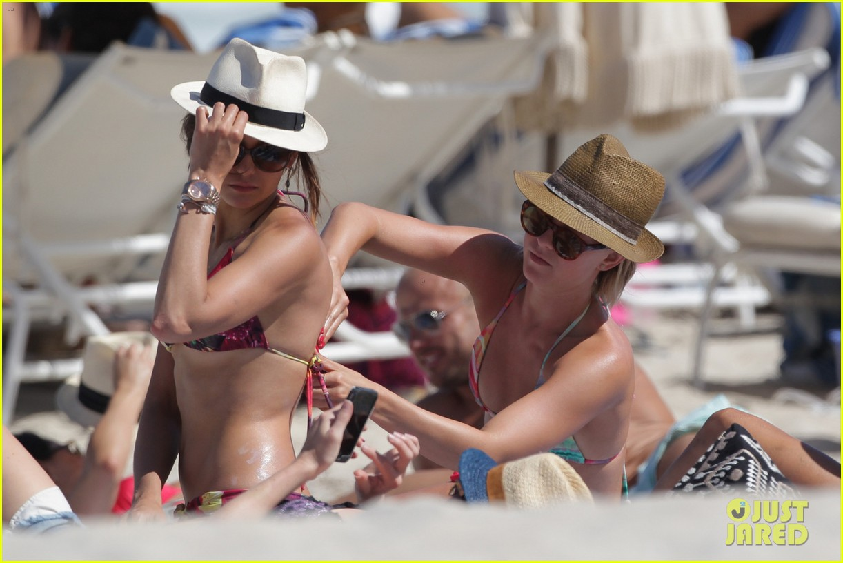 nina dobrev julianne hough beach bikini buddies 01