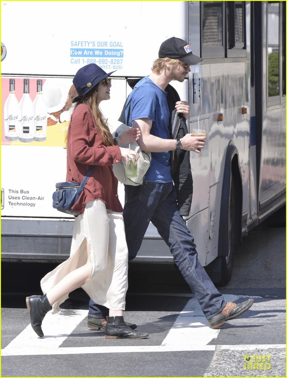 elizabeth olsen boyd holbrook soho strolling couple 212845884