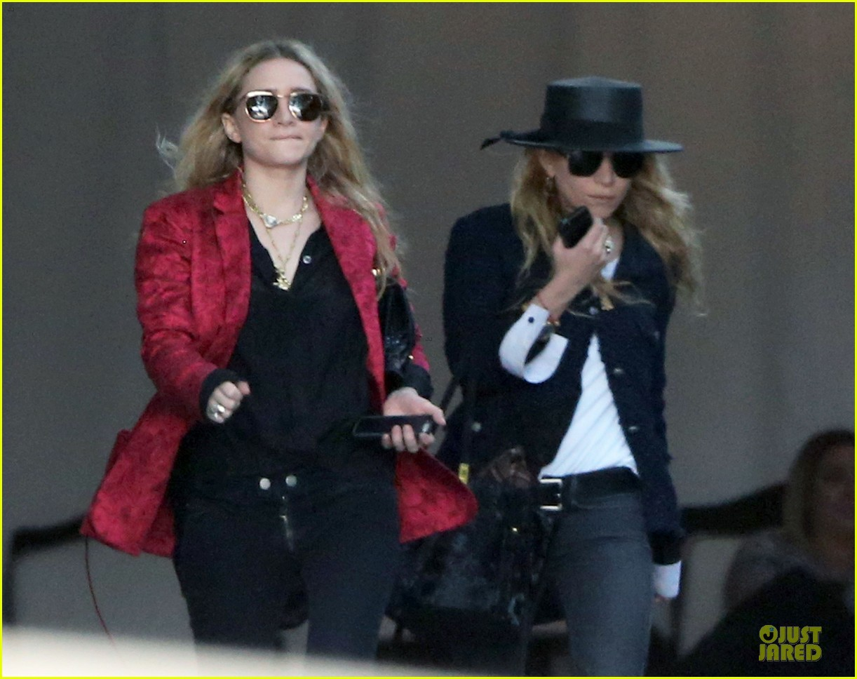 mary kate and ashley olsen chateau marmont hotel exit 032859228