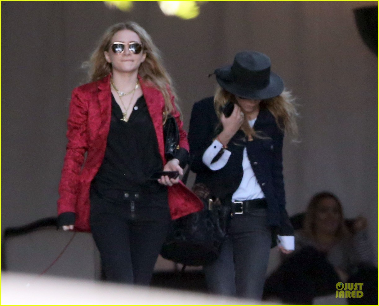 mary kate and ashley olsen chateau marmont hotel exit 062859231