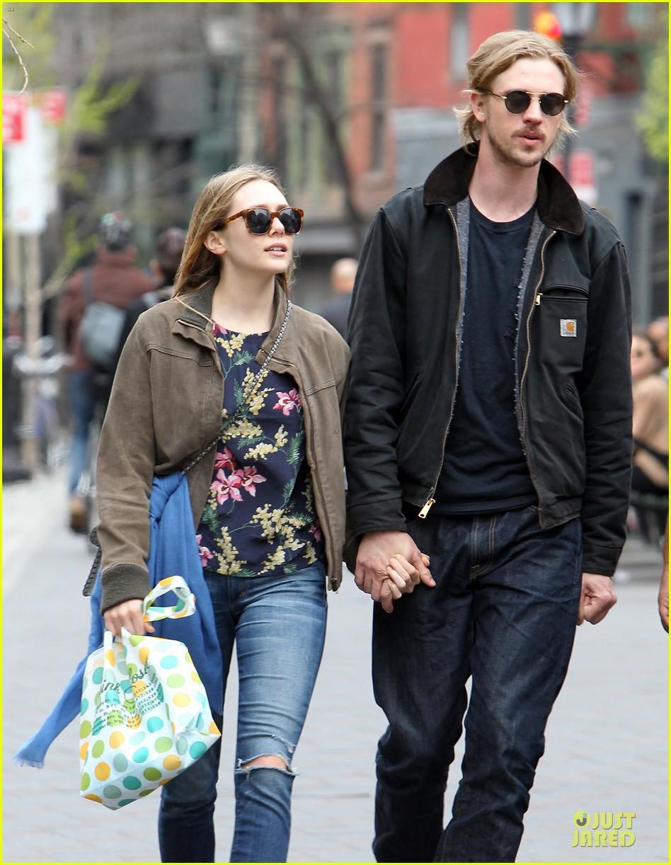 elizabeth olsen boyd holbrook holding hands in soho 132854142