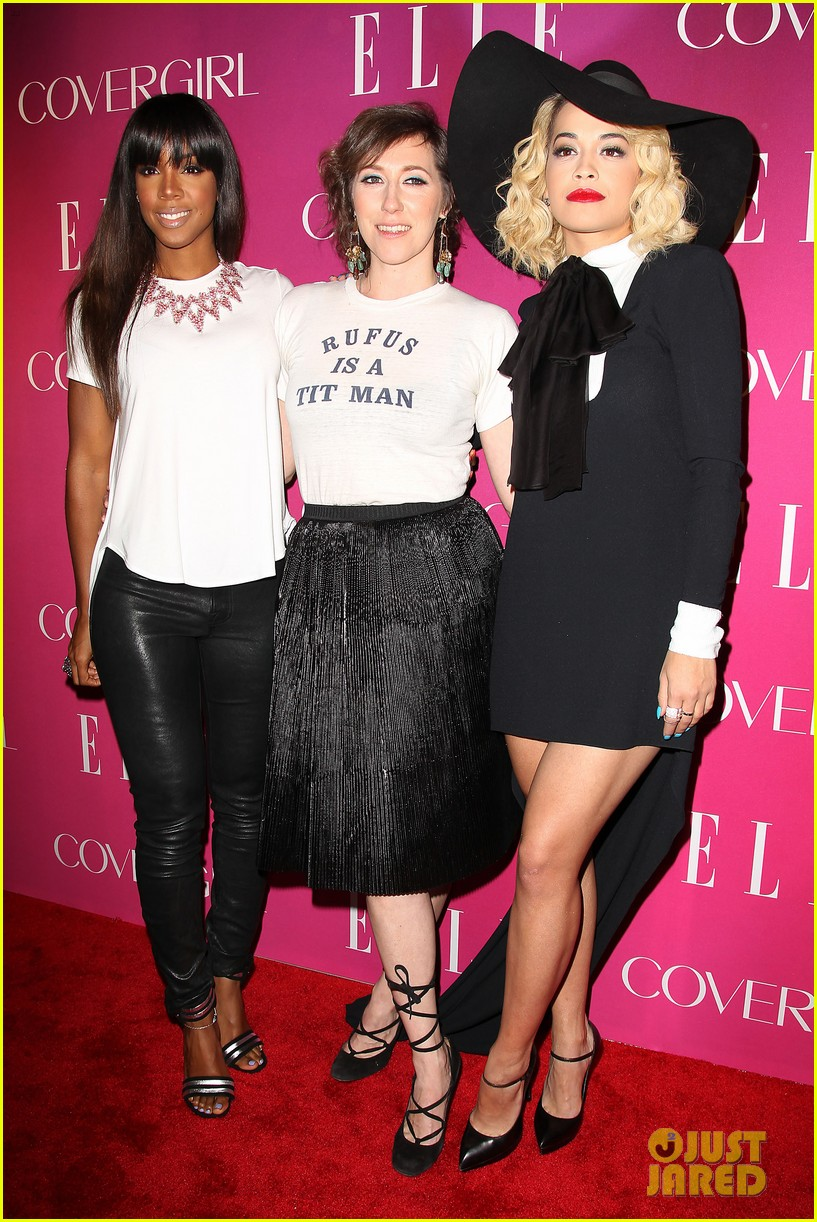 rita ora kelly rowland elle women in music event 062847314