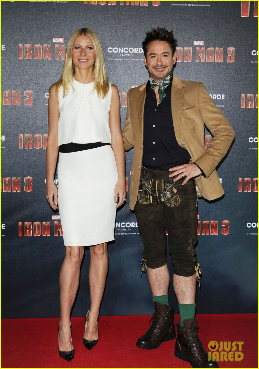 gwyneth paltrow robert downey jr iron man 3 germany photo call 28
