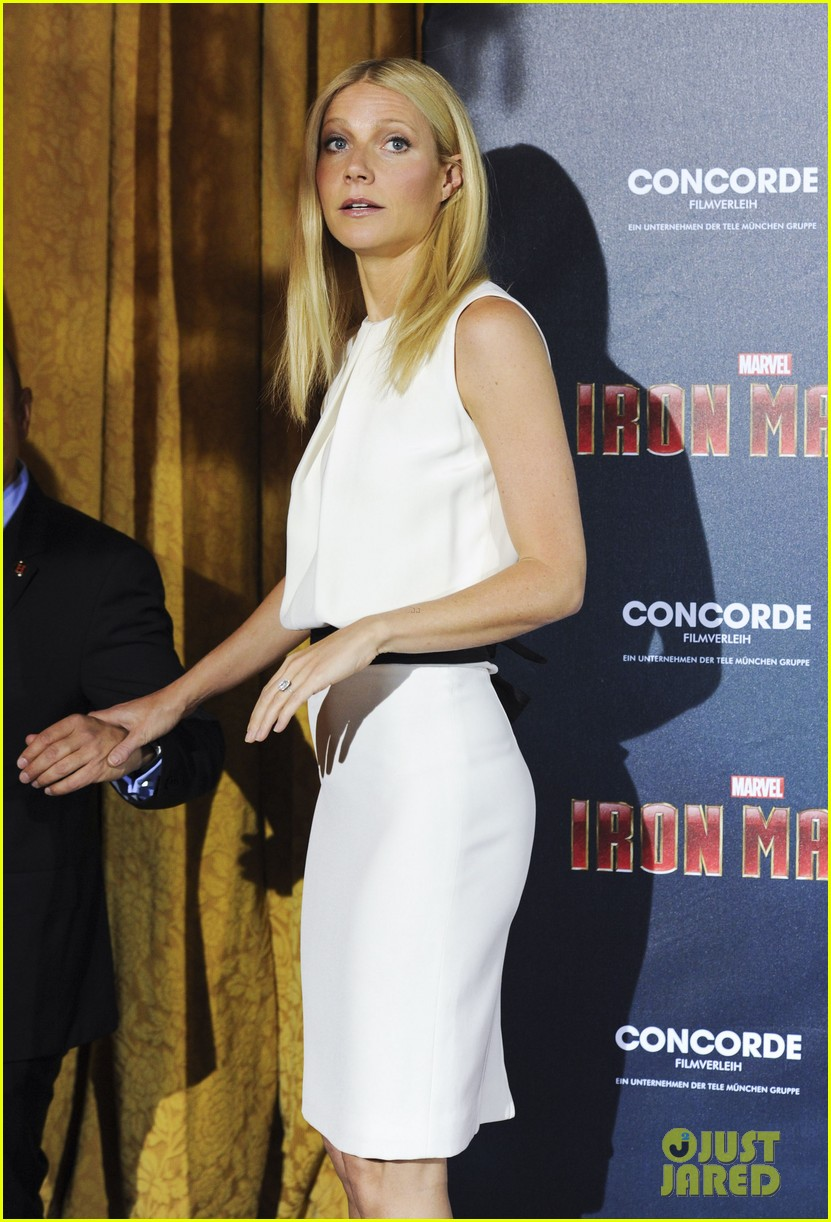 gwyneth paltrow robert downey jr iron man 3 germany photo call 332848177