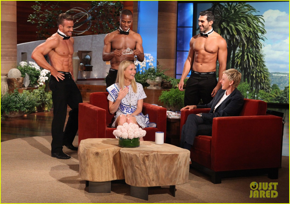 gwyneth paltrow most beautiful woman ceremony on ellen 032858450