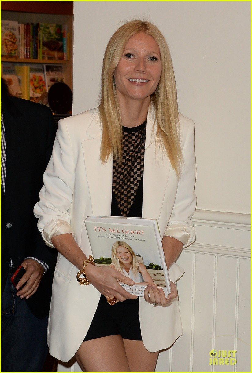 gwyneth paltrow my family came to book signing for the grove 20