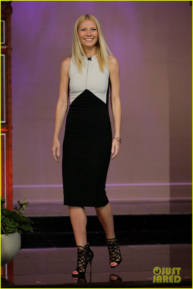 gwyneth paltrow tonight show with jay leno appearance 012858227