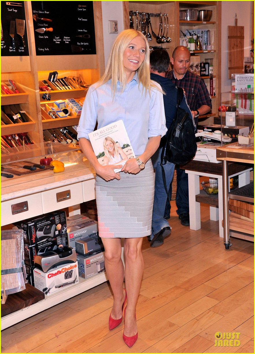 gwyneth paltrow there is no fitness shortcuts 012846320