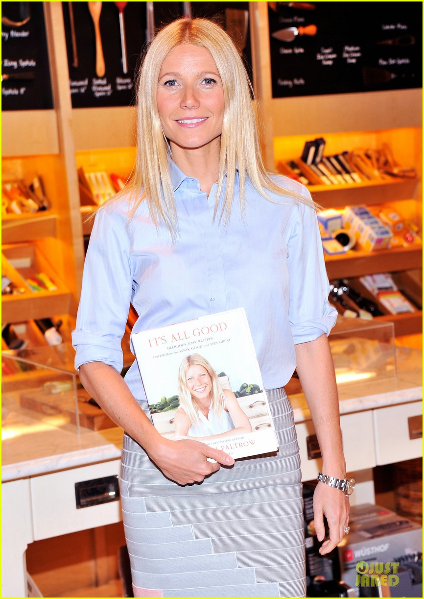 gwyneth paltrow there is no fitness shortcuts 042846323