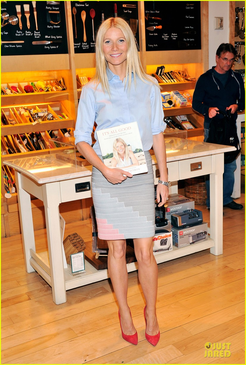 gwyneth paltrow there is no fitness shortcuts 052846324