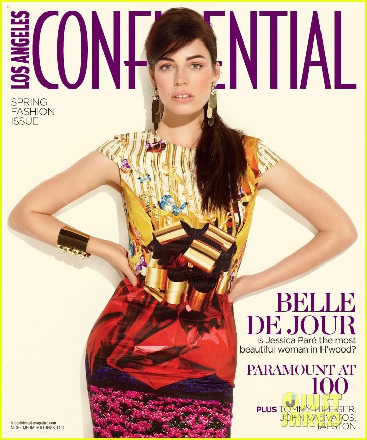 jessica pare covers la confidential spring fashion issue 01