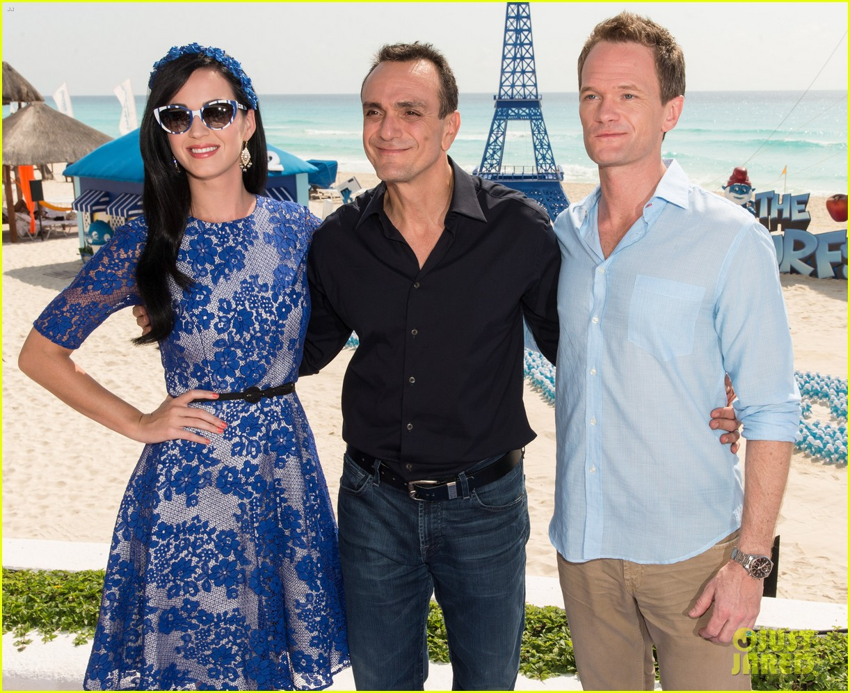 katy perry neil patrick harris smurfs 2 at summer of sony 042855733