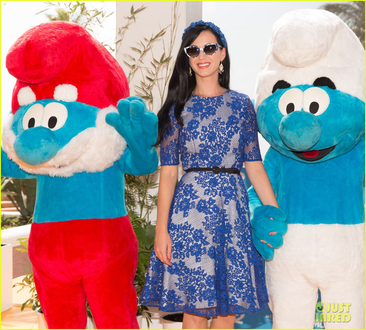 katy perry neil patrick harris smurfs 2 at summer of sony 082855737