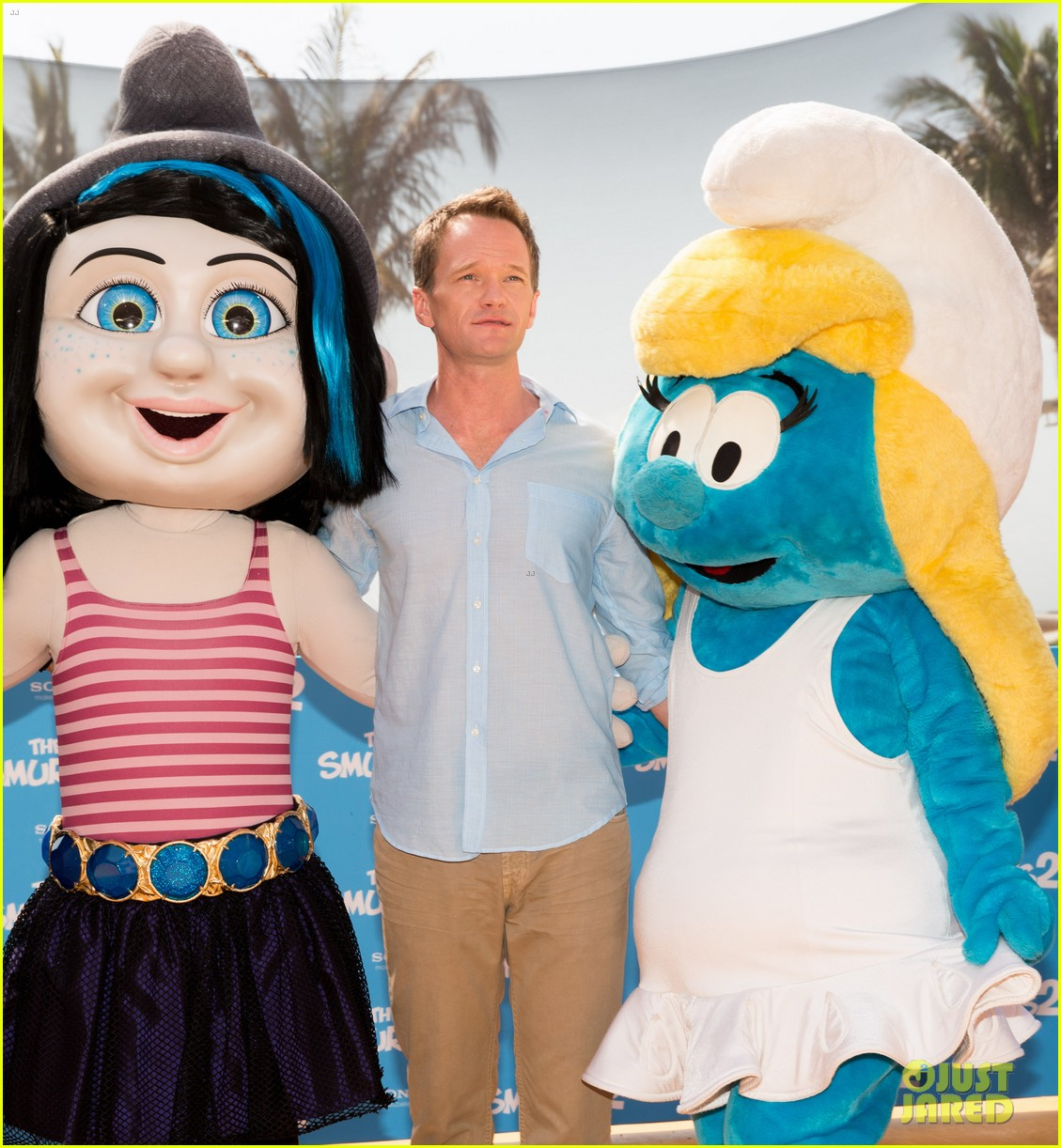 katy perry neil patrick harris smurfs 2 at summer of sony 092855738
