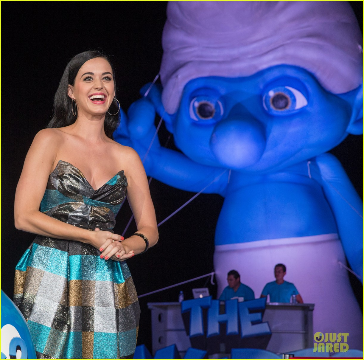 katy perry smurfs 2 summer of sony party 082856587