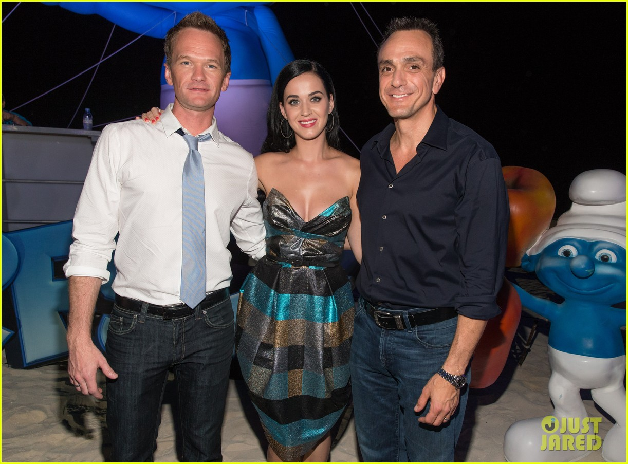 katy perry smurfs 2 summer of sony party 112856590