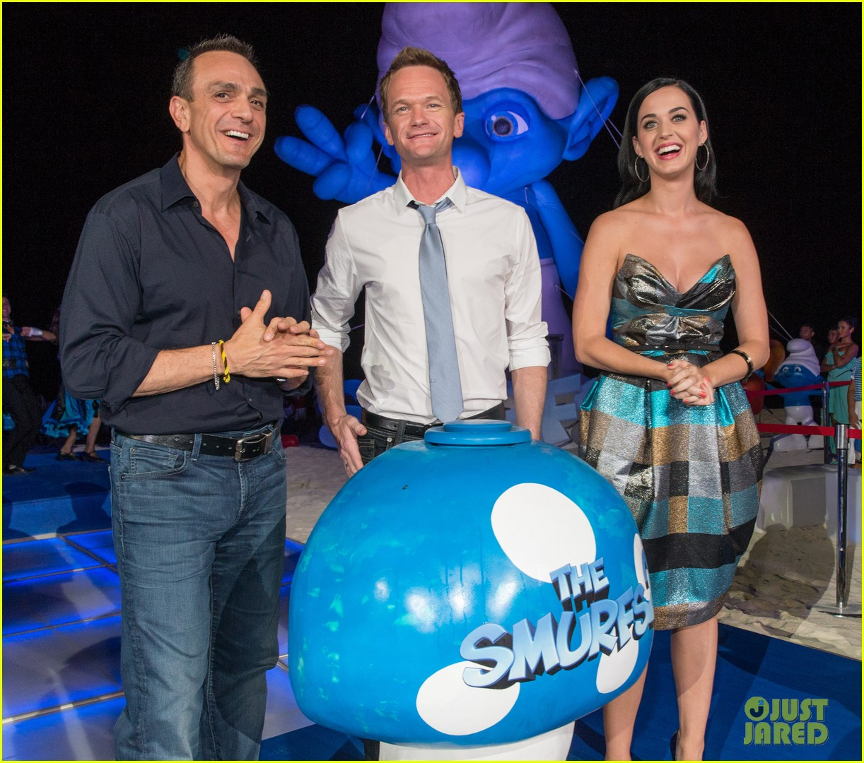 katy perry smurfs 2 summer of sony party 132856592