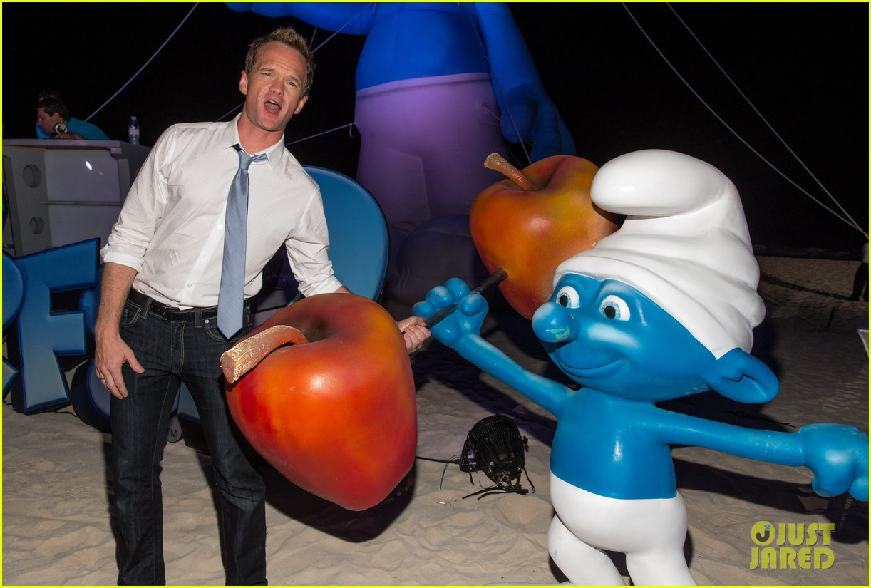 katy perry smurfs 2 summer of sony party 142856593