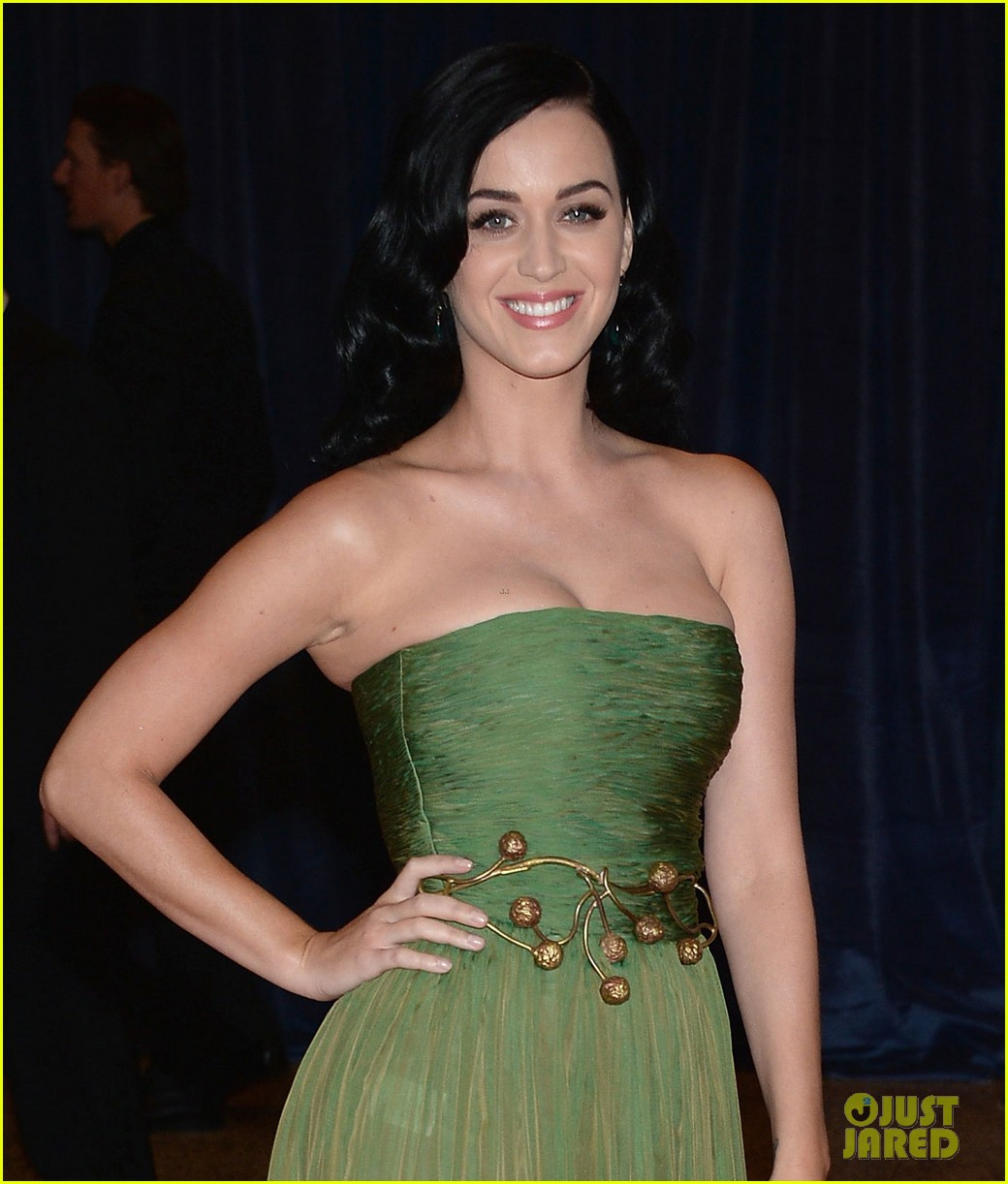 katy perry white house correspondents dinner 2013 red carpet 032859474