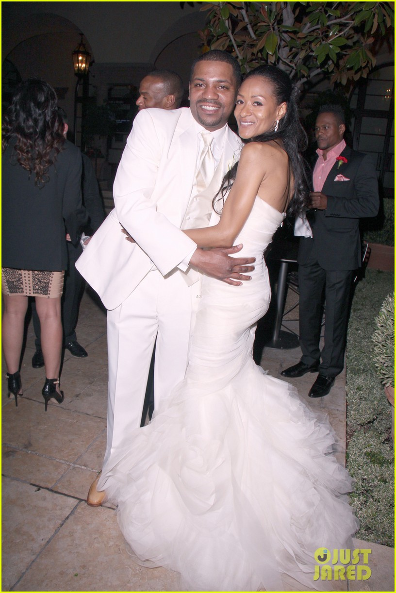 mekhi phifer wedding photos with reshelet barnes 012841469