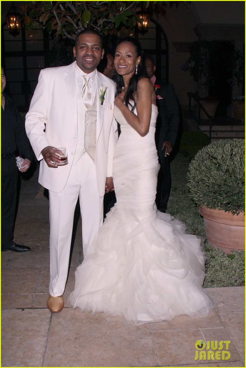 mekhi phifer wedding photos with reshelet barnes 032841471