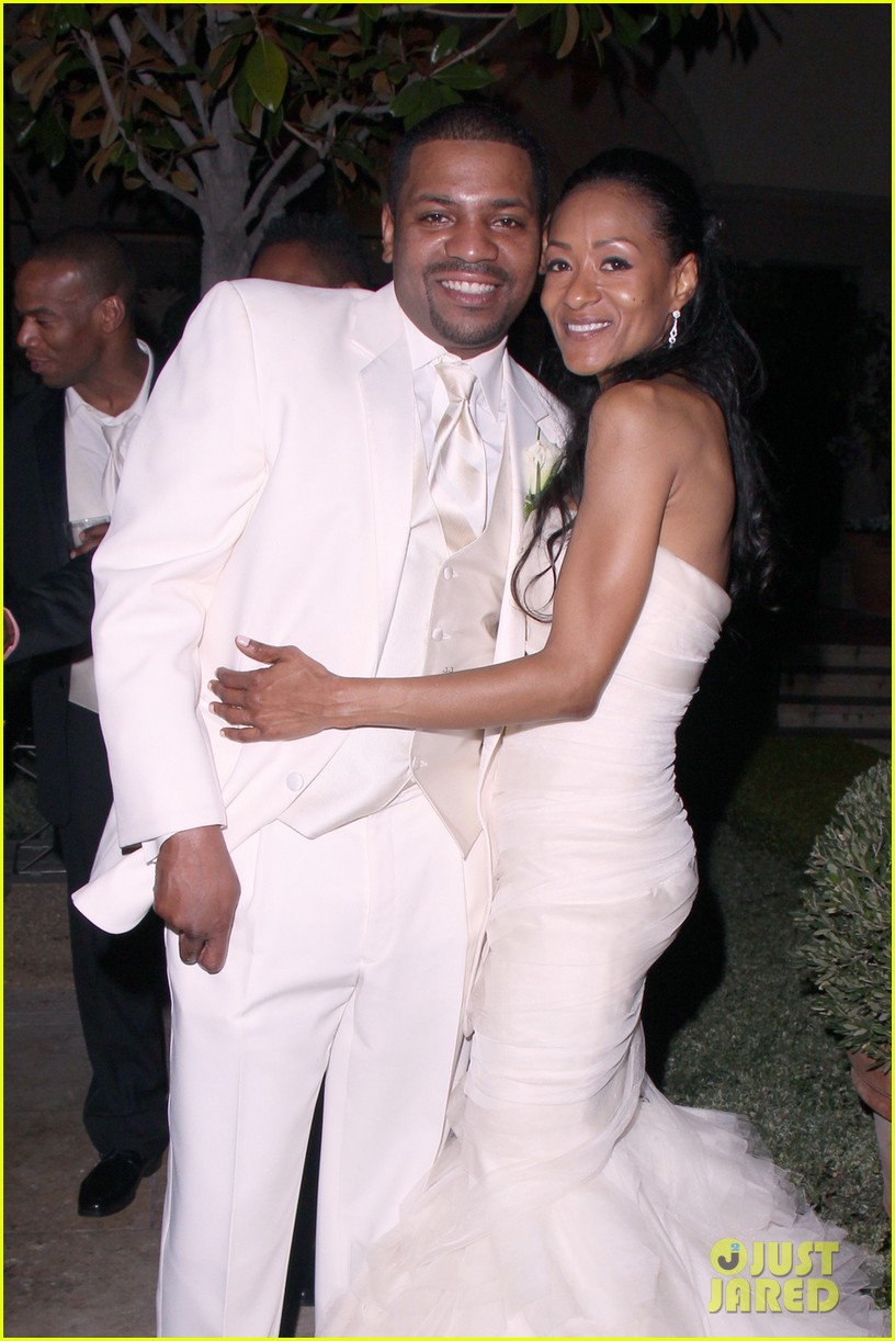 Mekhi Phifer Wedding Photos with Reshelet Barnes!: Photo ...