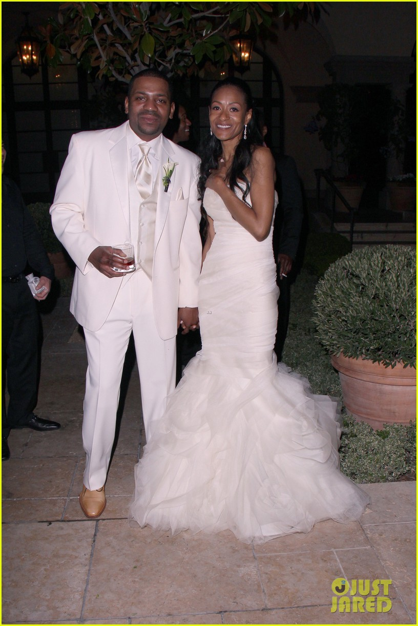 mekhi phifer wedding photos with reshelet barnes 052841473
