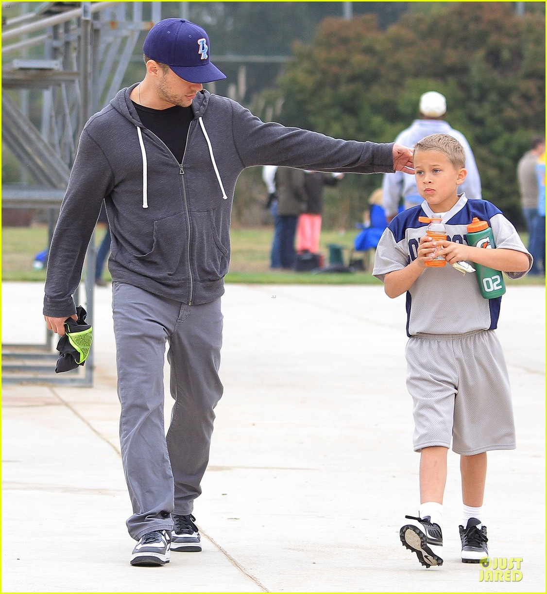ryan phillippe cowboys soccer game with deacon 072849724