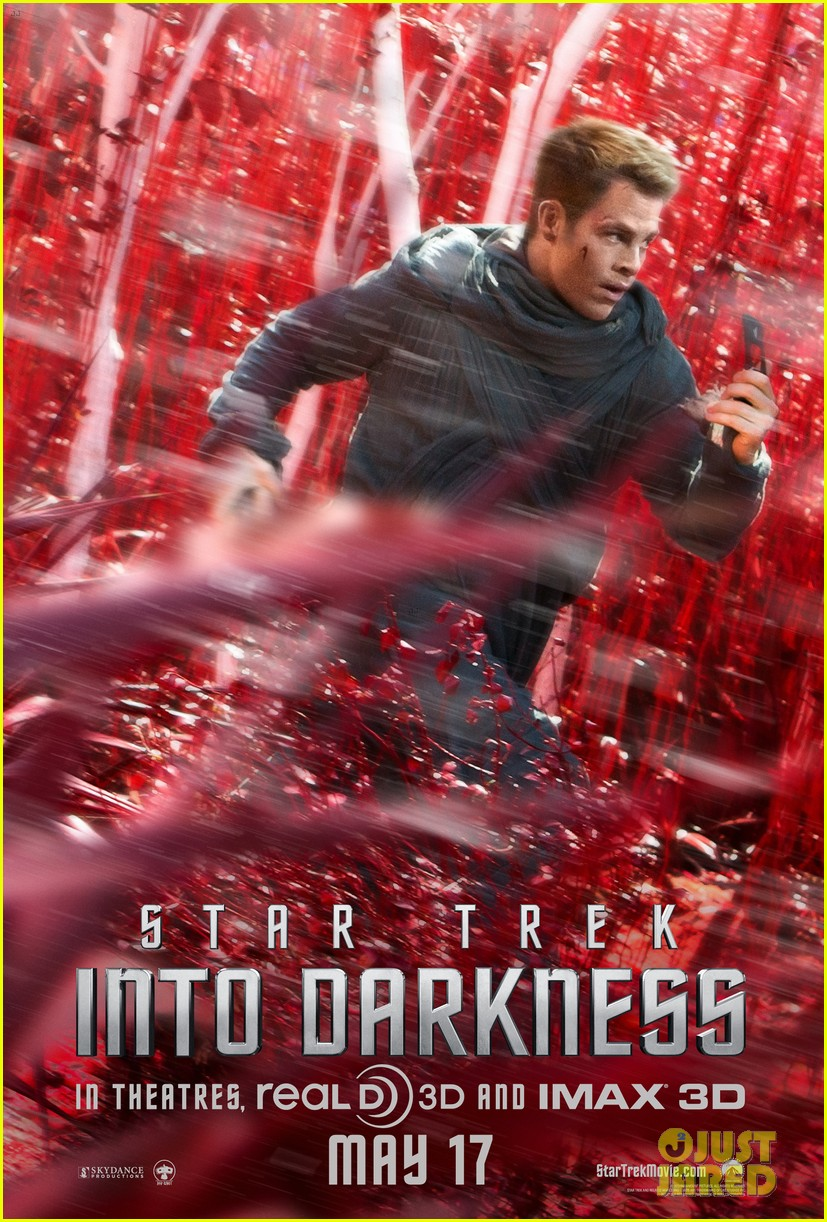 chris pine star trek into darkness trailer posters 022851455