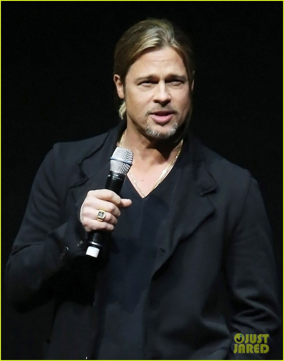 brad pitt cinemacon presentation for world war z 022851123