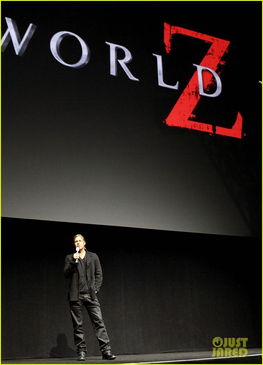 brad pitt cinemacon presentation for world war z 032851124