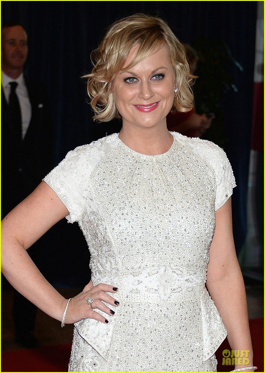 amy poehler white house correspondents dinner 2013 red carpet 04