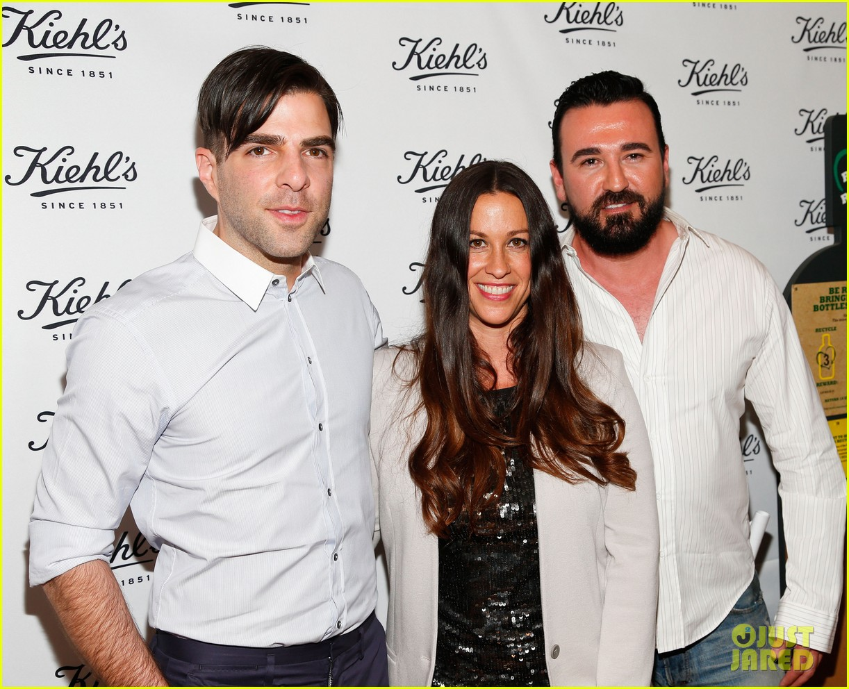 zachary quinto annasophia robb kiehls environmental launch 042852554