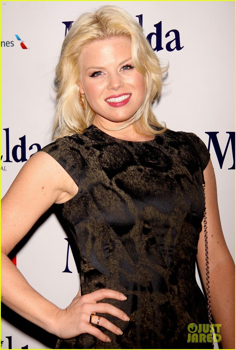 zachary quinto megan hilty matilda opening night 192848133