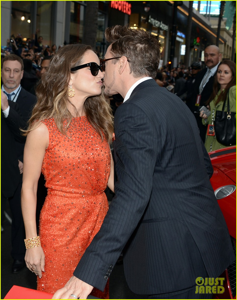 robert downey jr guy pearce iron man 3 premiere 10