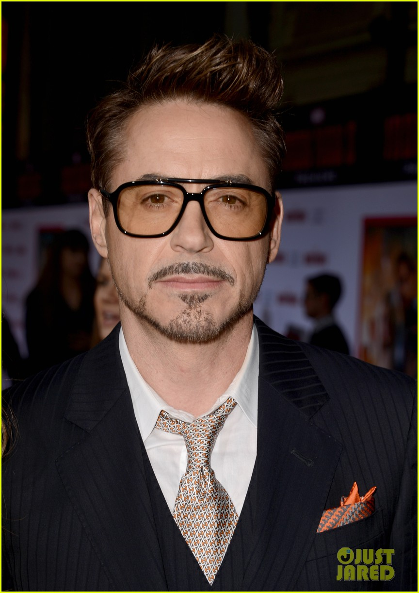 robert downey jr guy pearce iron man 3 premiere 152857580