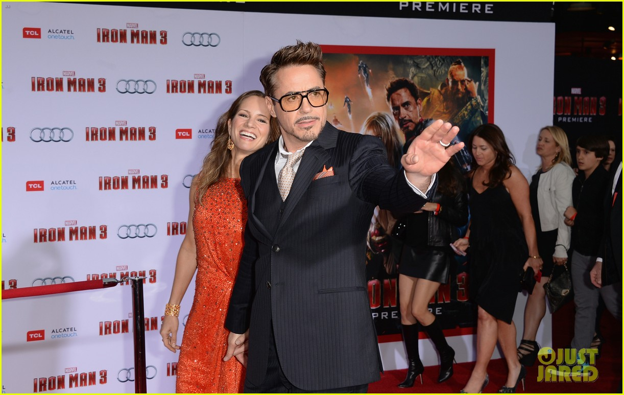 robert downey jr guy pearce iron man 3 premiere 162857581