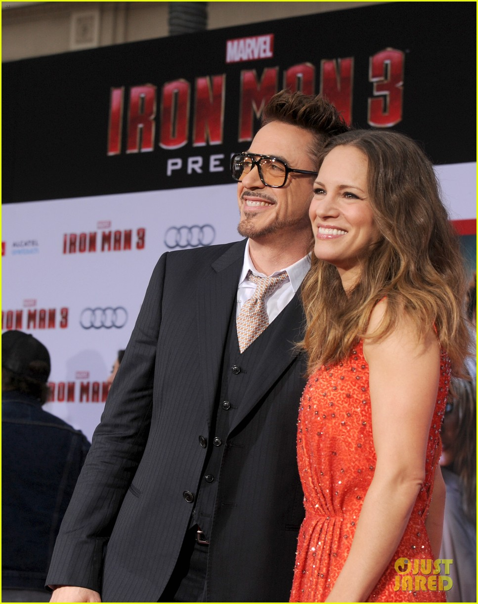 robert downey jr guy pearce iron man 3 premiere 172857582