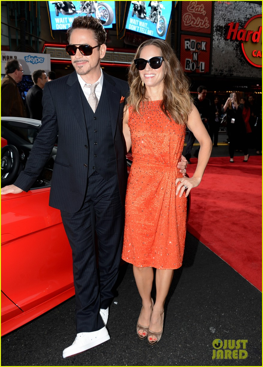robert downey jr guy pearce iron man 3 premiere 20