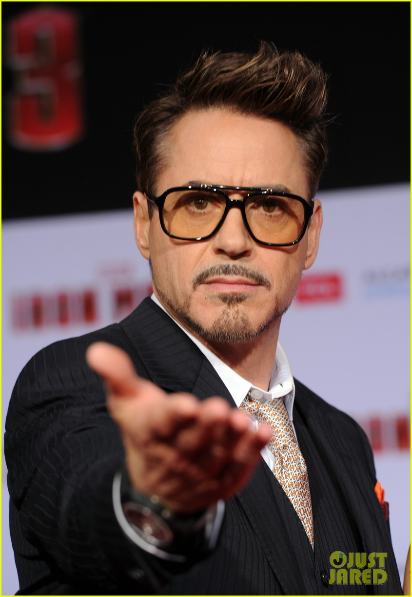 robert downey jr guy pearce iron man 3 premiere 222857587