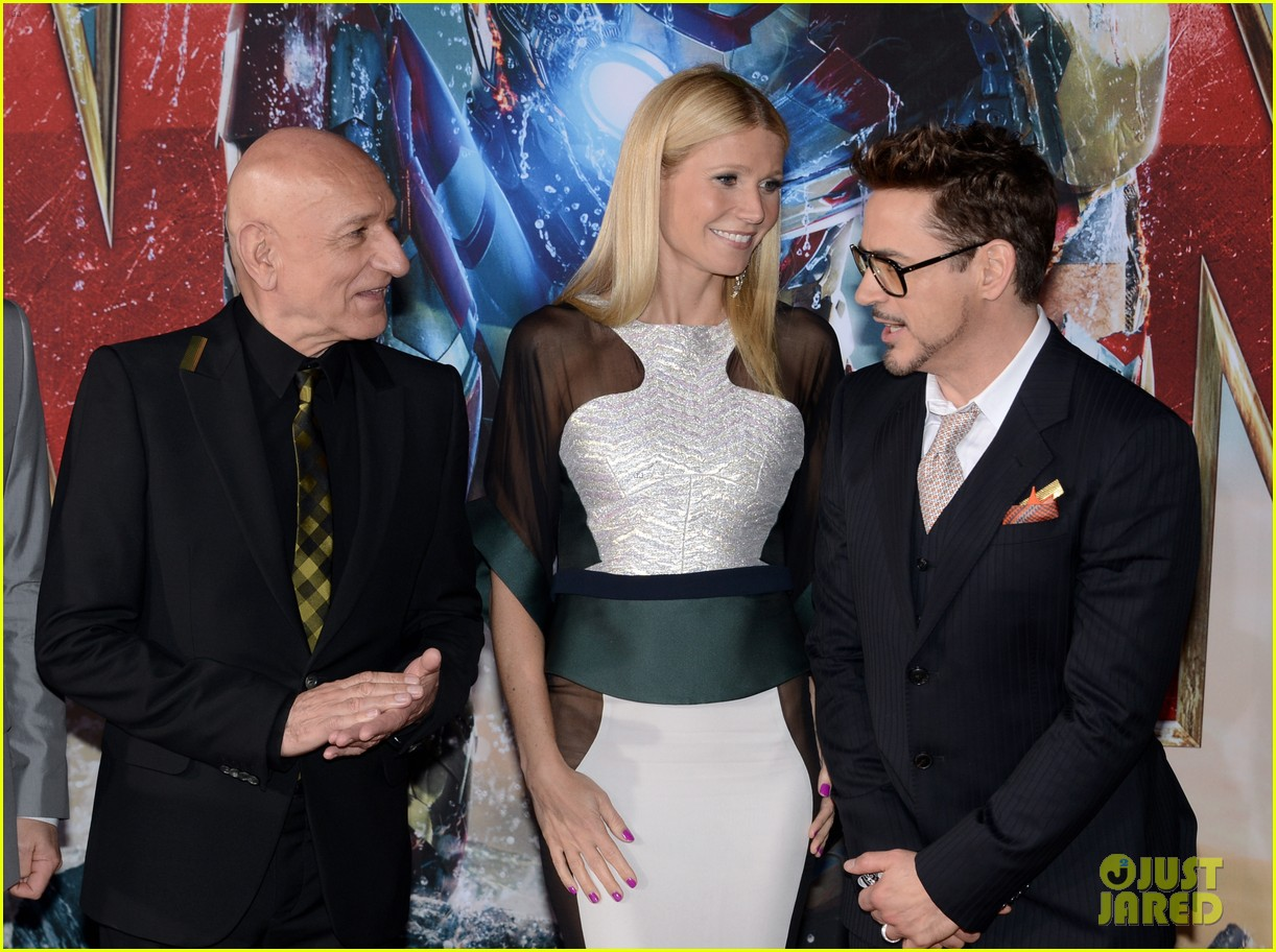 robert downey jr guy pearce iron man 3 premiere 232857588