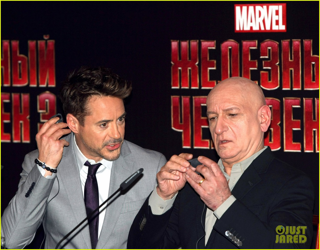robert downey jr iron man 3 premiere press conference 10