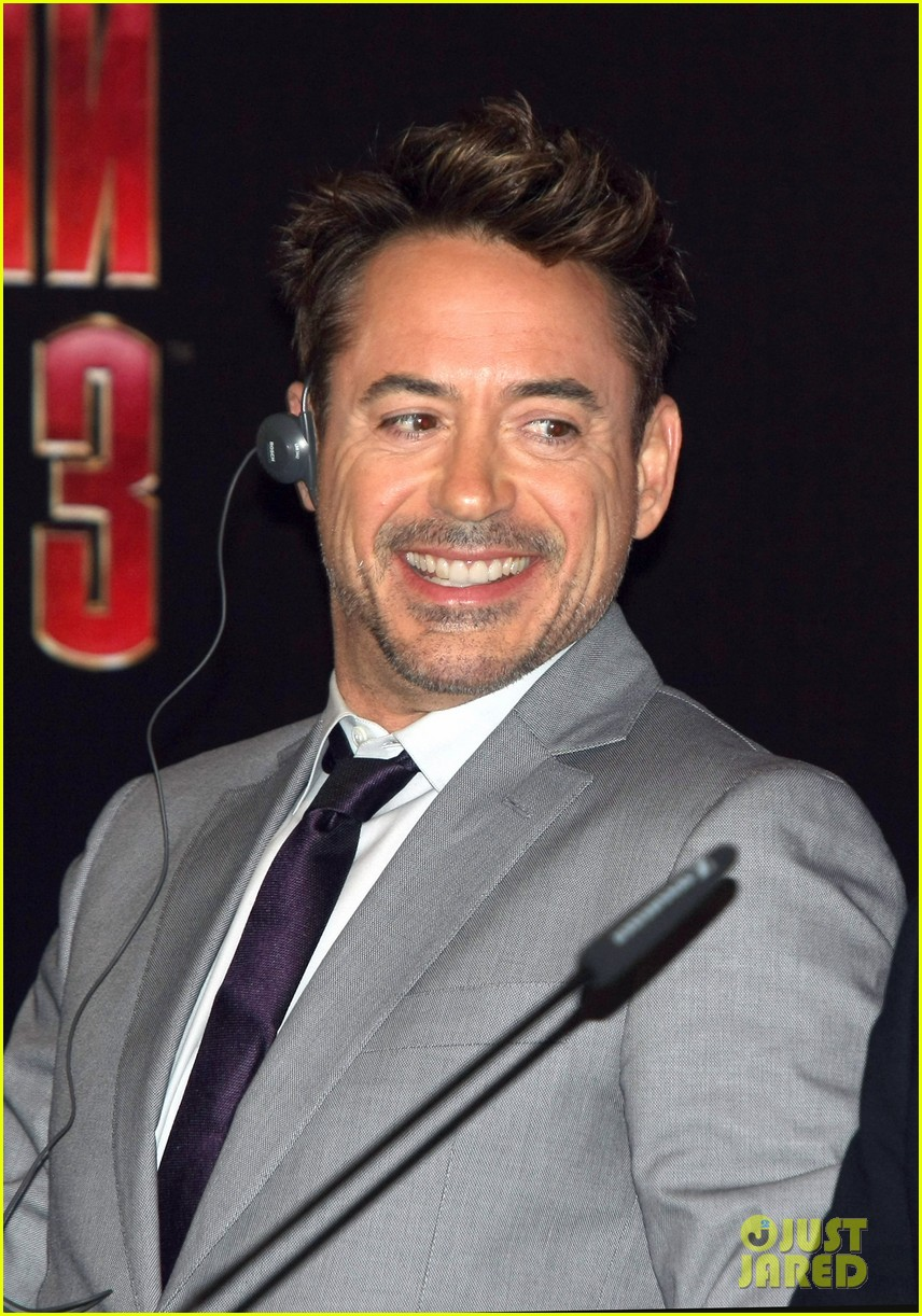 robert downey jr iron man 3 premiere press conference 132846979