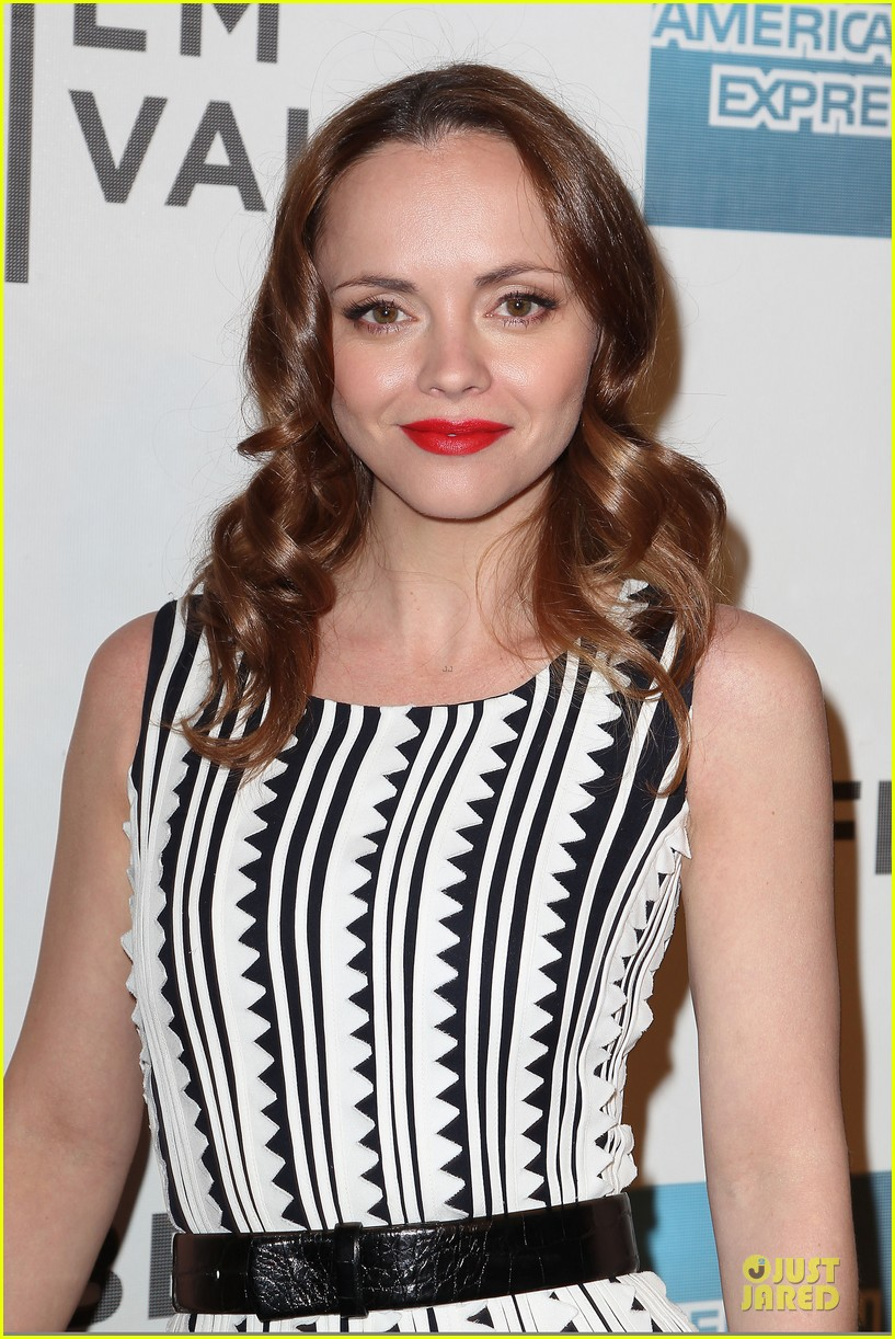 christina ricci the smurfs tribeca screening 022859391