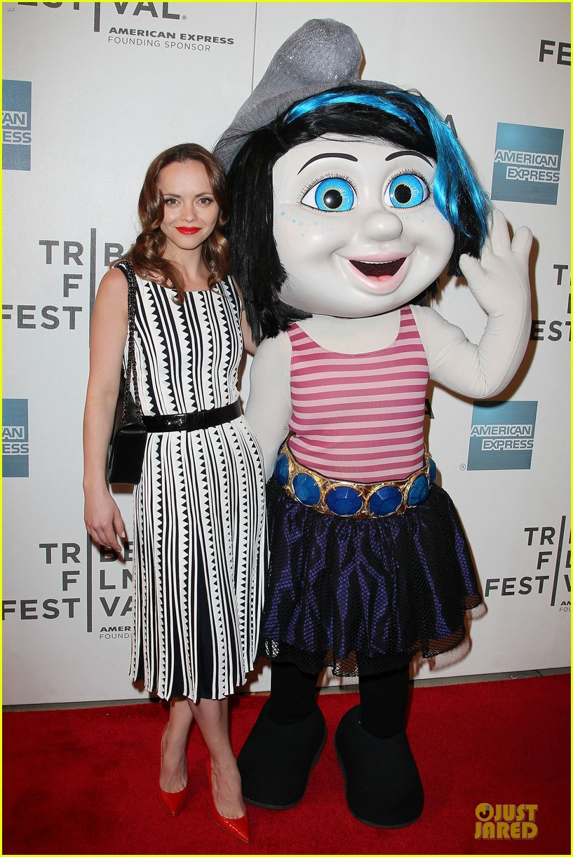 christina ricci the smurfs tribeca screening 162859405