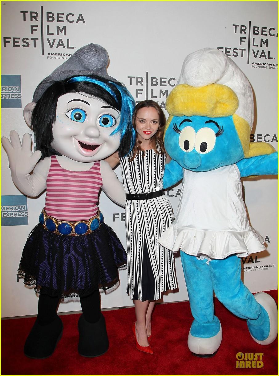 christina ricci the smurfs tribeca screening 182859407