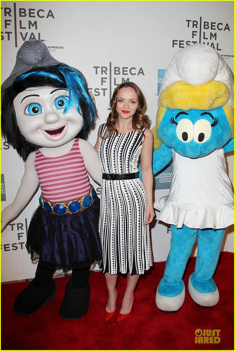 christina ricci the smurfs tribeca screening 202859409